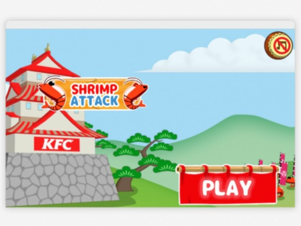KFC Japan's lead gen game