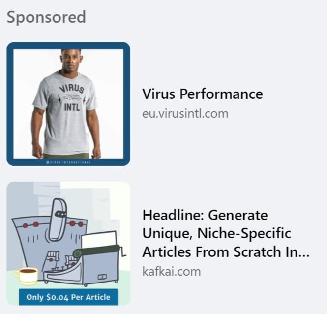 Facebook link click ads