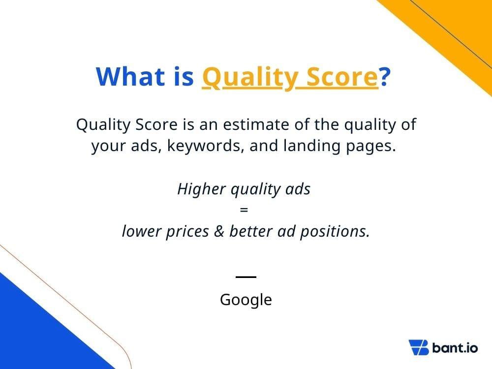 Quality Score Definition