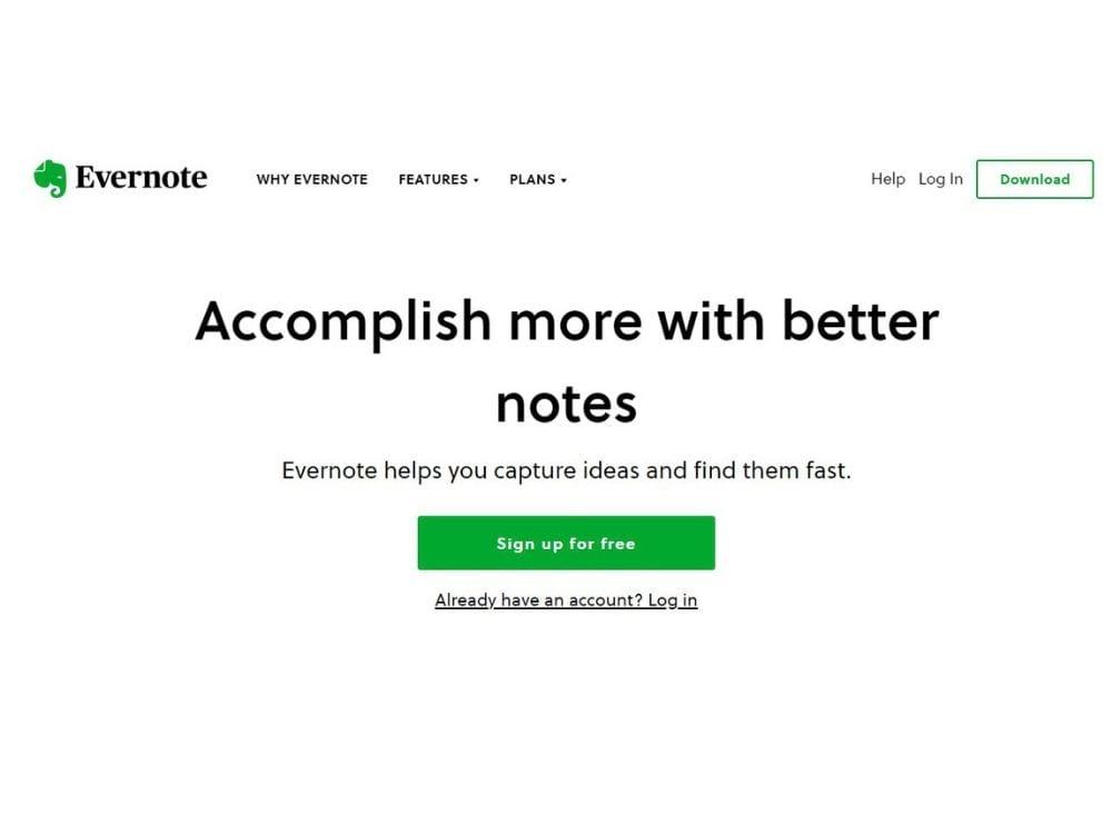 Evernote Unique value proposition