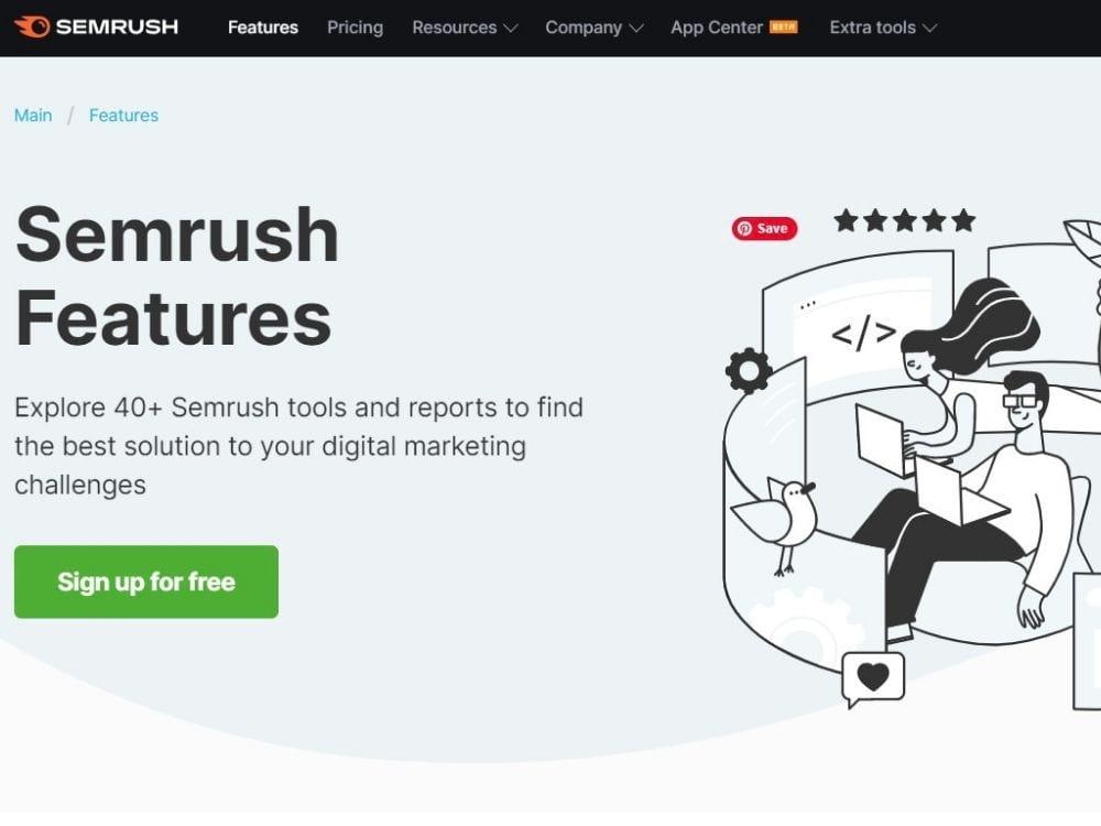 Semrush Research Tool