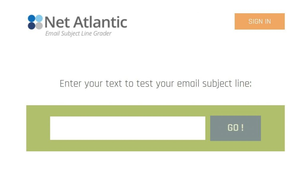 Email Subject Line Grader