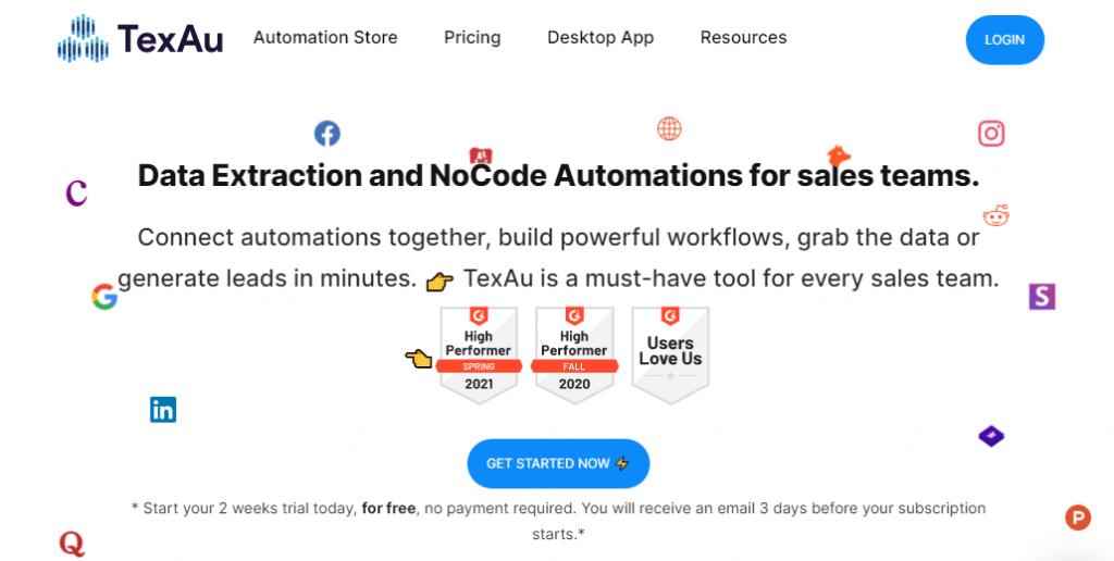 TexAu LinkedIn Automation Tool